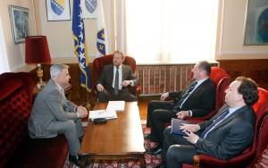 Sastanak sa šefom Tima za krizne situacije MVPBiH