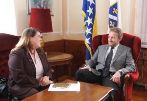 Sastanak sa šeficom misije Vijeća Evrope