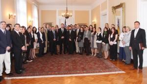 Susret sa delegacijom Diplomatske akademije iz Beča