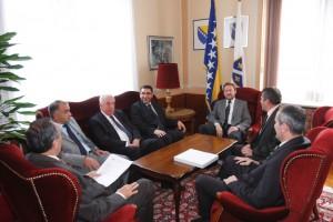 Delegacija Organizacionog odbora manifestacije Dani Ajvatovice