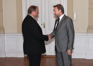 Susret sa saveznim ministrom za ekonomsku saradnju i razvoj Savezne Republike Njemačke