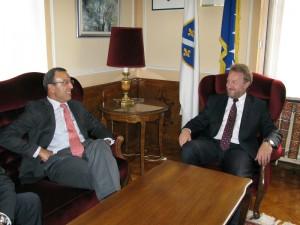 Susret sa predsjednikom Centra za globalni dijalog i saradnju (CGDC)
