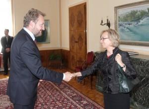 Nastupna posjeta ambasadorice SR Njemačke u BiH