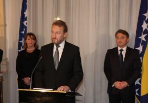 Govor člana Predsjedništva BiH Bakira Izetbegovića na prijemu povodom Dana državnosti BiH